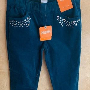 Gymboree Girls Cords with Sequins